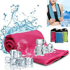 Sports Ice-cold Cooling Towel Running/Yoga/Gym Pad Sweat-absorbent For Men Women image