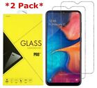 2Pack Premium Tempered Glass Screen Protector For Samsung Galaxy A20 / A30 / A50