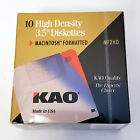 "Sealed KAO 3.5"" High Density Diskettes 