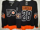 9529 MENS Philadelphia Flyers CLAUDE GIROUX Breakaway Hockey JERSEY New BLACK