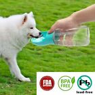 350ML Pet Dog Cat Travel Water Bottle Dispenser Bowl Feeder Anti Leak BPA FREE