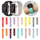 Sport Silicone Watch Band Strap for Apple Watch Series 4 3 2 1 40mm 44mm iWatch