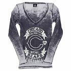 CHICAGO BEARS WOMANS LONG SLEEVE FASHION VINTAGE SHIRT NEW W TAGS PICK SIZE on eBay