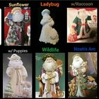 6 Different Santa Claus 4 U 2 Pick From Painted/Unpainted Ceramic Bisque  image