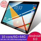 10.1 Inch HD Game Tablet Computer PC Octa Core Android 8.0 GPS 3G Dual Camera