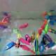 5X Electric Robot Swimming Fish Bath/Shower Water Toys Float Baby Kids Bath Toy