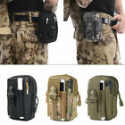 US Tactical Cell Phone Belt Pack Bag Molle Waist Pouch Holster Case for iPhone