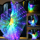 LED Isis Wings Belly Dance Club Light Show Costume Egyptian Wings Colourful Show