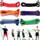 Elastic Exercise Resistance Band Yoga Fitness Workout Stretch Bands Pull Up image