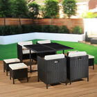 Rattan Furniture Garden 8 Seat Dining Set Patio Cube Conservatory Indoor Outdoor