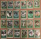 1972 Sunoco Vintage Football Sticker Lots Steelers Raiders Jets 49ers See List $5.95 USD on eBay