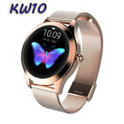 KW10 Smart Watch Lady IP68 Fitness Tracker Heart Rate Monitor For iOS Android <br/> Good price / 13 styles /  Women Girl Gift /Smartwatch