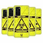 HEAD CASE DESIGNS HAZARD SYMBOLS BACK CASE FOR HUAWEI PHONES 1