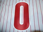 PHILADELPHIA PHILLIES Number KIT For Sleeve of JERSEY 4 Inch Choose Any Number on Ebay