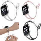 For Fitbit Versa/Versa Lite Smart Watch Stainless Steel Band Strap Wristbands US