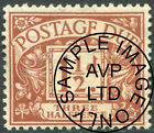 1914-1969 Postage Due Very Fine Used/Fine Used Single Stamps