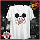 FREESHIP Mickey Mouse Tshirt Thug Life Gangster Middle Finger White Unisex S-6XL