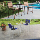 Patio Table Chairs Set Outdoor Garden Pool Dinning Back Yard Furniture Deck Seat