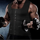 Men's Slimming Neoprene Vest Hot Sweat Shirt Body Shaper Waist Trainer Shapewear