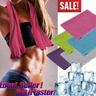 10 Pack Instant Ice Cooling Towel Sports Workout Fitness Gym Yoga Hiking Pilates image