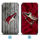 Arizona Coyotes Leather Case For Samsung Galaxy S10 S10e Lite Plus S9 S8 $8.49 USD on eBay