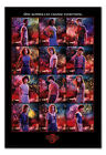 Framed Stranger Things Character Montage Poster Official Licensed 26 x 38 Inches