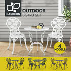 Gardeon Outdoor Setting Bistro Set Patio Garden Furniture Dining Chairs 3 Piece