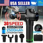 Upgrade 30 Speed Massage Gun Percussion Vibration Muscle Therapy Massager 4 Tips