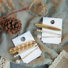 3Pcs/set Pearl Metal Hair Clip Barrette Hairpin Beauty Styling Tools New Arrival