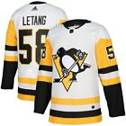 Kris Letang Pittsburgh Penguins adidas Away Authentic Player Jersey White