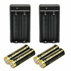 Skywolfeye 18650 Battery 9900mAh Li-ion 3.7V Rechargeable For LED Flashlight Lot