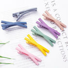 Cute Candy Color Duckbill X Shaped Hair Clip Snap Hairpin  Barrette Accessories