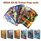 100 200 300Pcs Shining Play For GX MEGA EX Cards Toys Trainer Mewtwo Trading