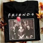 Horror Halloween Team Friends t-shirt Horror squad Pennywise Michael Myers S-6XL image
