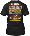 Printed Awesome Glazier Hanes Tagless Tee T-Shirt Hanes Tagless Tee T-Shirt image