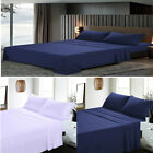 Egyptian Comfort 1800 Series 4 Piece Bed Sheets Set High-Quality Hotel P3N9 image