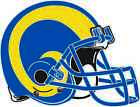 LOS ANGELES RAMS HELMET Vinyl Decal / Sticker ** 5 Sizes ** $5.95 USD on eBay