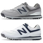 New Balance NBG574SL Men's Spikeless Microfiber Leather Golf Shoe,  New