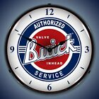 Buick Service Wall Clock, LED Lighted