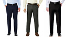 Haggar Men`s Motion Performance Straight Fit Stretch Pants-SZ&CLR::Variety-NWT