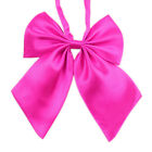 TopTie Women Pre Tied Bow Knot Bow Tie Satin Finish Solid Bowtie, 4 Colors