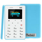 Mini Ultra-slim M5 Bar Phone Positioning Alarm Clock 128M Storage Pocket Card US