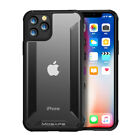 Shockproof Clear Case For iPhone 11 Pro Max X XR XS Rubber TPU Hybrid Slim Cover