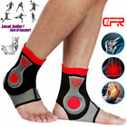 Ankle Foot Compression Wrap Sleeve Bandage Brace Support Sport Pain Protection $6.99 USD on eBay