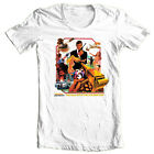 James Bond The Man Golden Gun T shirt 1970's movie retro 007 cotton graphic tee $33.01 CAD on eBay