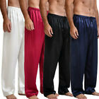 Kyпить Popular Satin Silk Men's Pajama Set Sleepwear Lounge Pants Sleep Bottoms S-XL на еВаy.соm