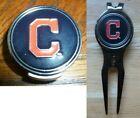 "Cleveland Indians 1"" MLB Golf Ball Marker 2 sided  Hat Clip or Divot Tool w/Clip on Ebay"