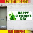 Happy St Patrick's Day Advertising Banner Vinyl Mesh Decal Sign discount sale