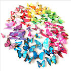 12pcs 3d Butterfly Wall Stickers Decals Home Decors All Room Decorations Kids Uk