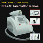Hot Q-Switch 1320 532 1064nm Nd Yag Laser Tattoo Pigments Removal Beauty System